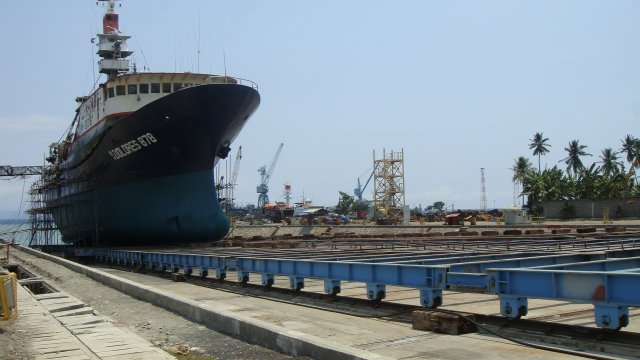 Gensan Shipyard and Machine Works Inc. (GSMWI) SLIPWAY 5000 GRT X2 PROJECT, Siguil, Maasim, Sarangani Province