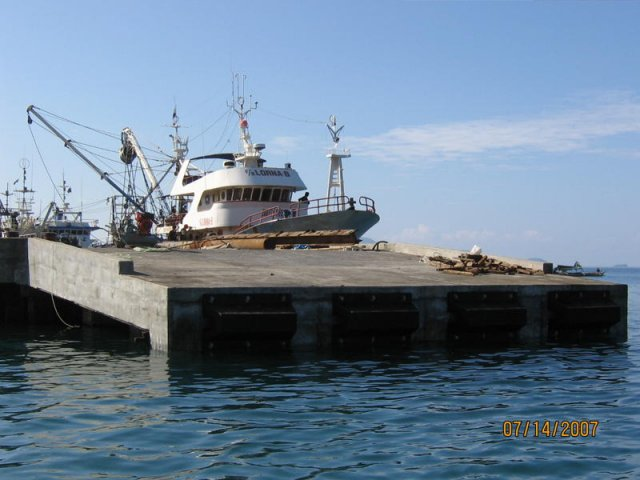 Rehabilitation of Existing RC Wharf and Repair of Damaged Rock Bulkhead and Pavement - Port of Mati, Davao Oriental