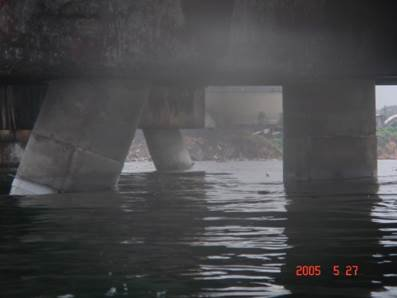 Retrofitted concrete Jacket