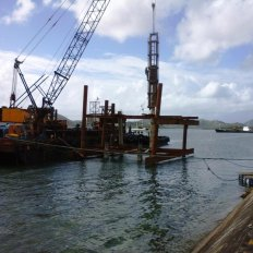 Offshore Pile Driving Works