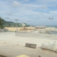 Back-up Area, RORO Ramp, Site Development - Port of Dapa, Surigao del Norte