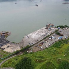 Construction of Mariveles Dry Bulk Terminal
